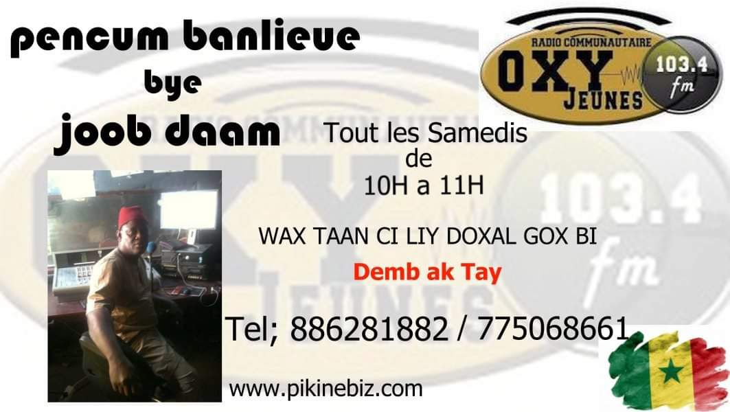 UNITED AS ONE SUR WWW.PIKINEBIZ.COM AVEC LA RADIO OXYJEUNES FM 103.4...