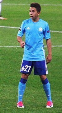 Une photo du footballeur Maxime Lopez