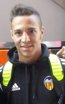 Une photo du footballeur Rodrigo Moreno