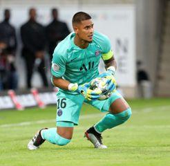 Une photo du footballeur Alphonse Areola
