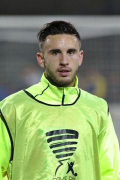 Une photo du footballeur Adrien Thomasson