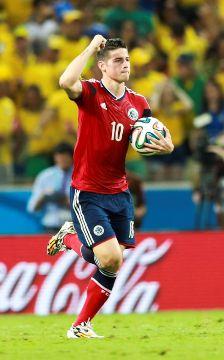 Une photo du footballeur James Rodríguez