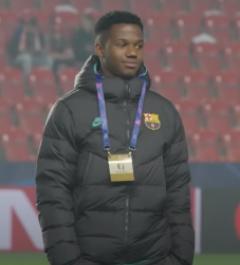 Une photo du footballeur Ansu Fati