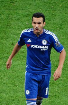 Une photo du footballeur Pedro