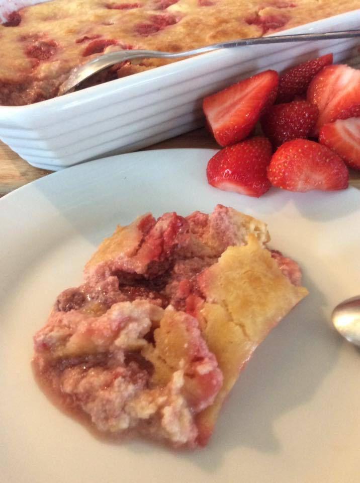 gratin de fraises au mascarpone