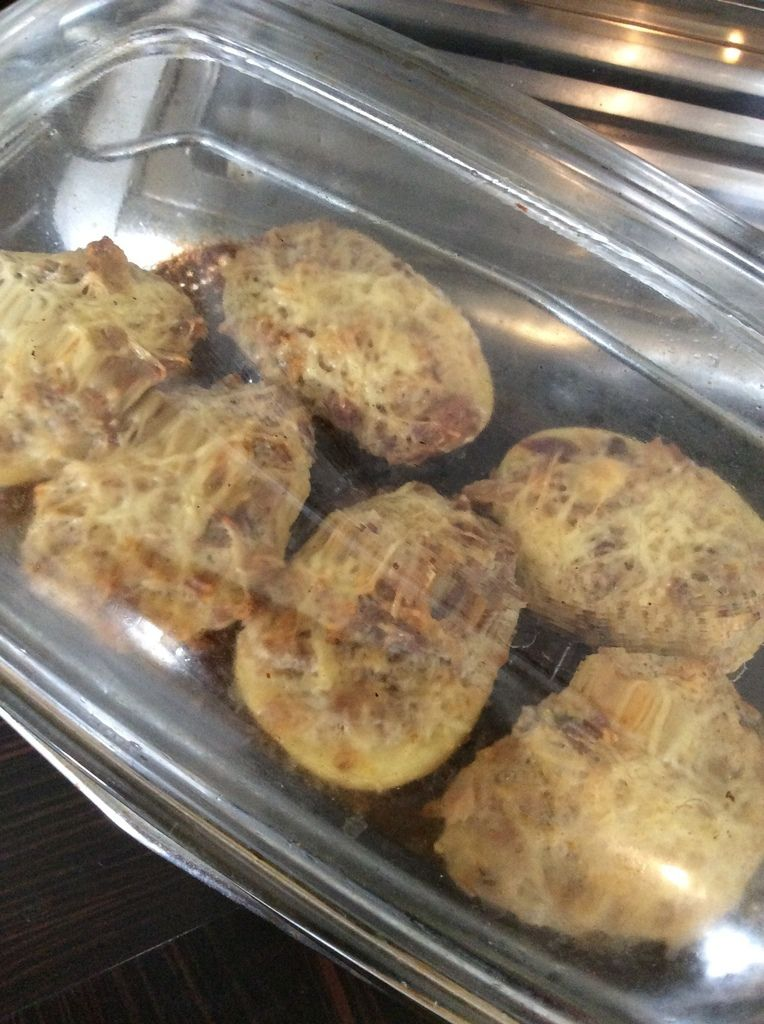 pommes de terre farcies aux restes
