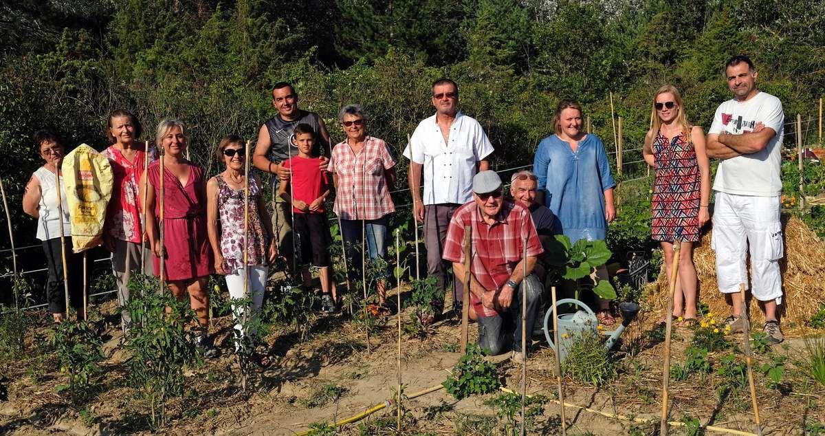 """CABRIERES D'AIGUES : """"Les Petits Jardins de Cabrières"""", créent un beau lien social"""