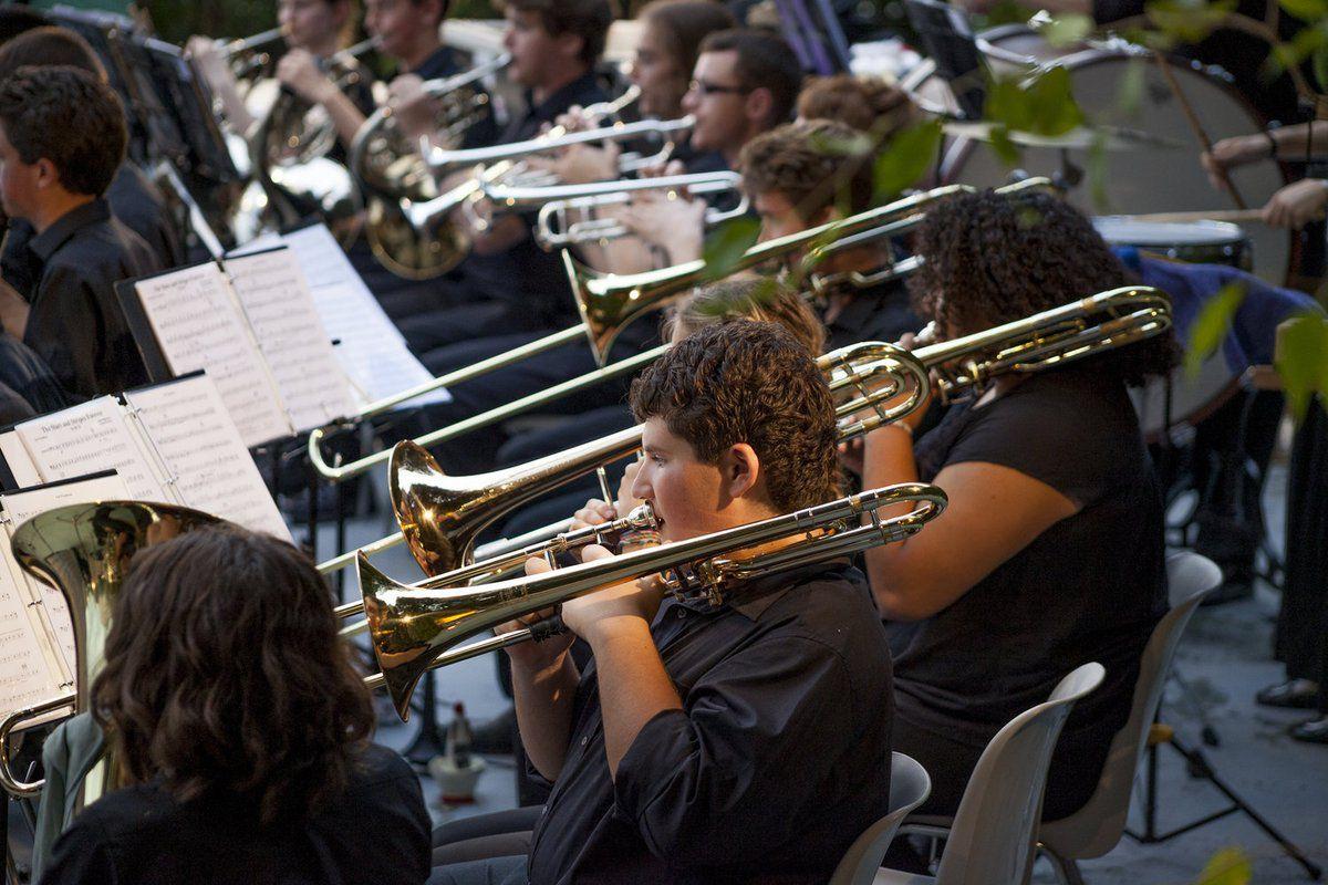 Photo archive : Le Festival provençal des orchestres de jeunes met à l'honneur la diversité et l'amour de l'excellence musicale