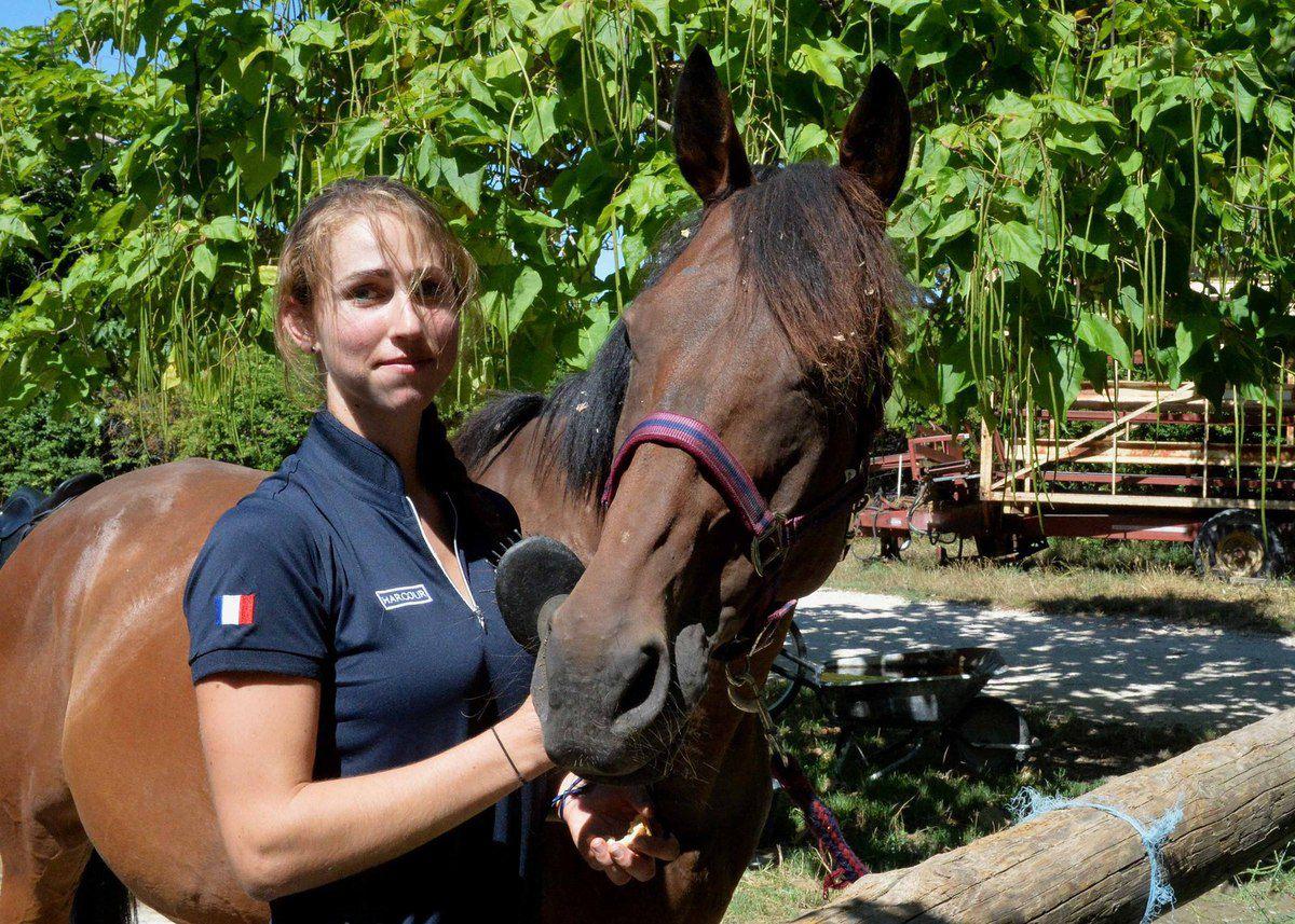 VILLELAURE  :   2018, un nouveau challenge pour la cavalière Chloé Guyon