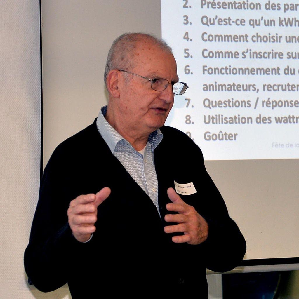Photos AC Public ,  Elus référents et Jean Michel Bostetter