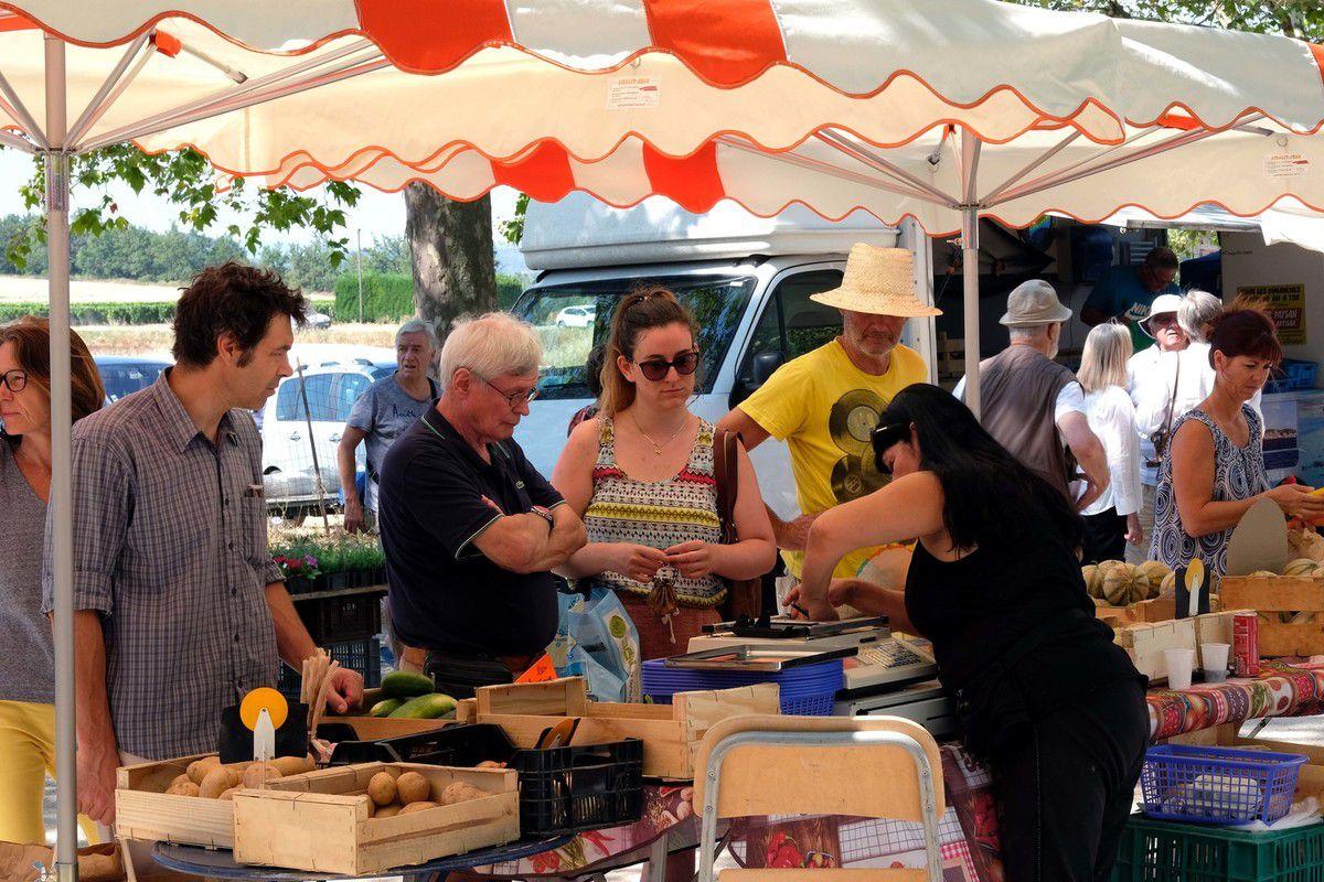St MARTIN de la BRASQUE:  Le marché paysan ouvre Dimanche 28 avril