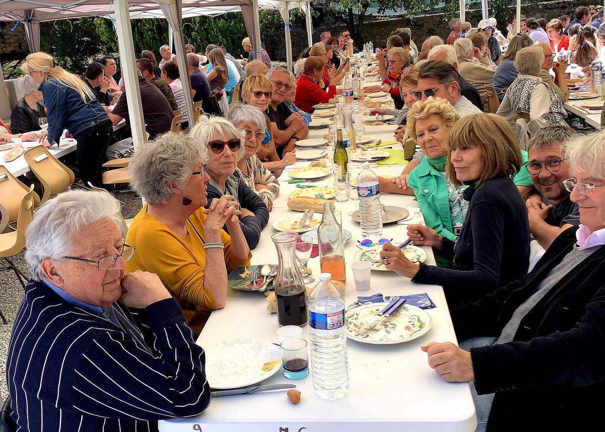 GRAMBOIS  :  La fête de la St Pancrace est finie