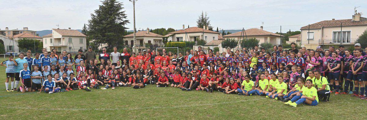LA TOUR D'AIGUES Une 2e Journée de football féminin réussie