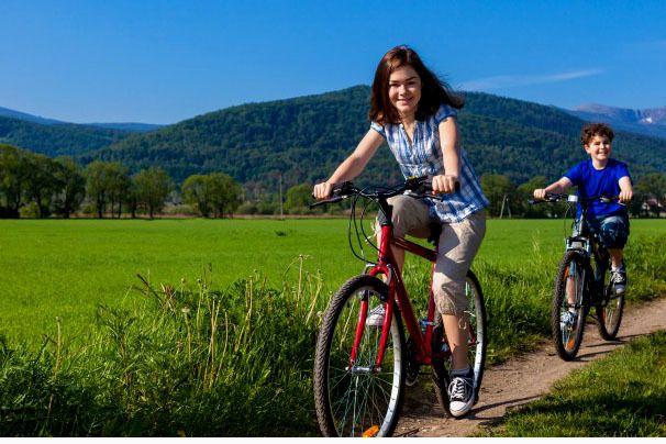 PARC REGIONAL DU LUBERON :  Le vélo en question dans le Luberon