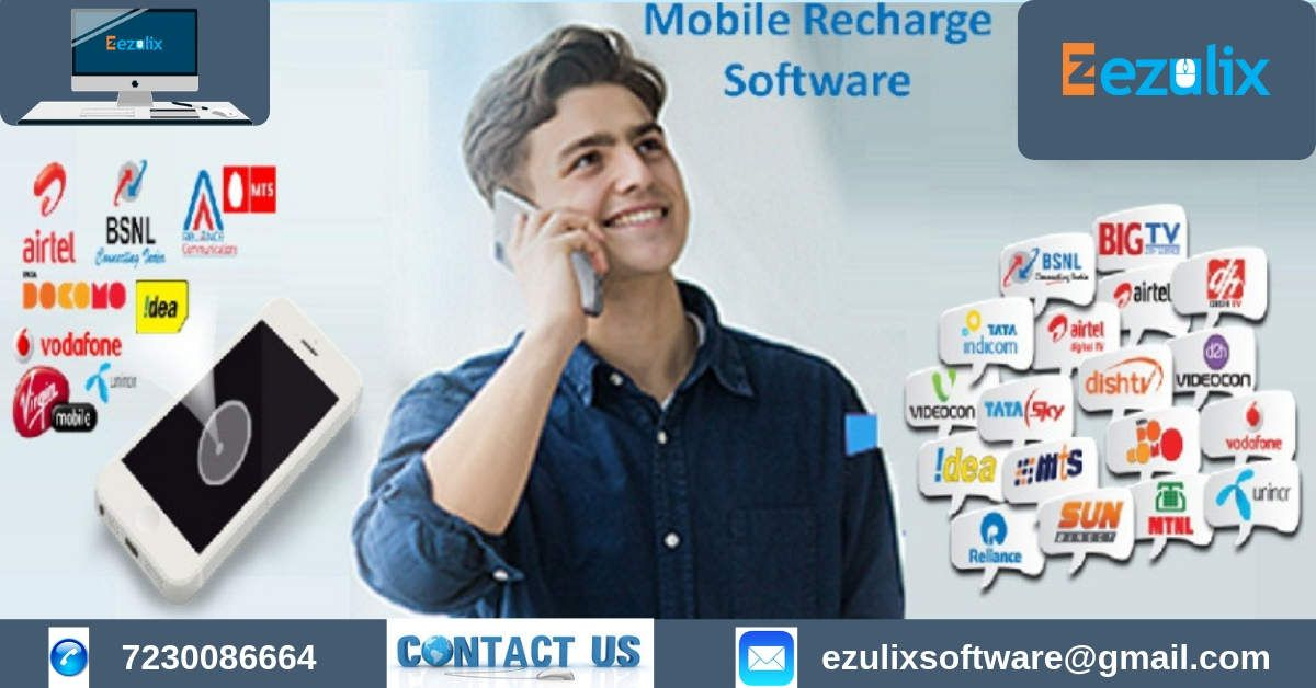 Which is Best mobile Recharge Software for Recharge Business