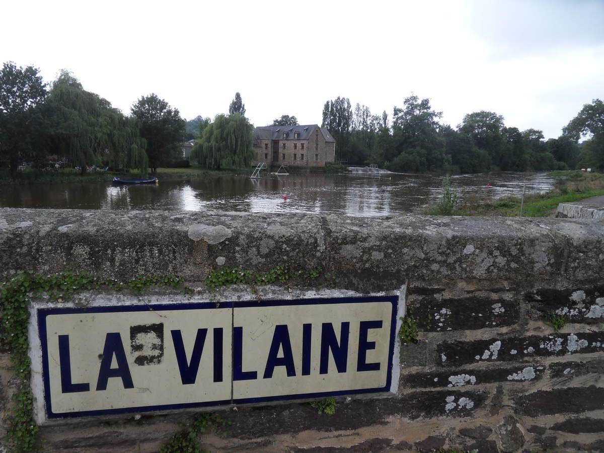 """""""La Vilaine de Redon à Rennes"""" : Etape 4 - Laillé / Rennes AR - 47,6 km"""