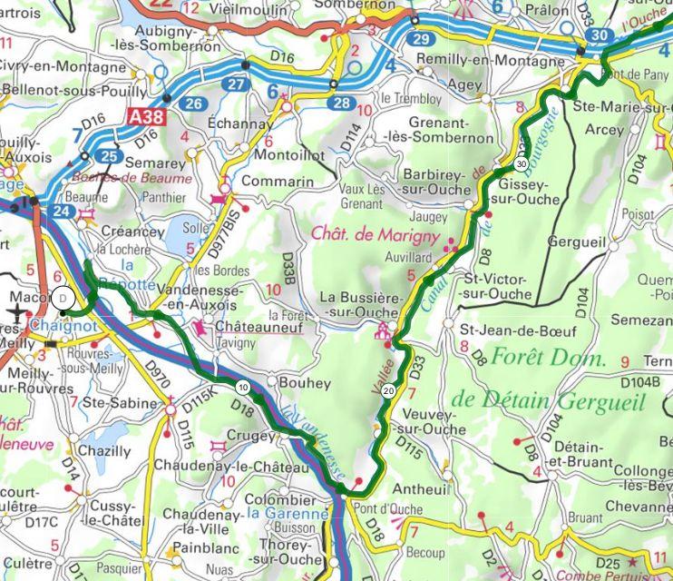 Le Tour de Bourgogne - Etape 3 - Maconge/Dijon - 66,5 km