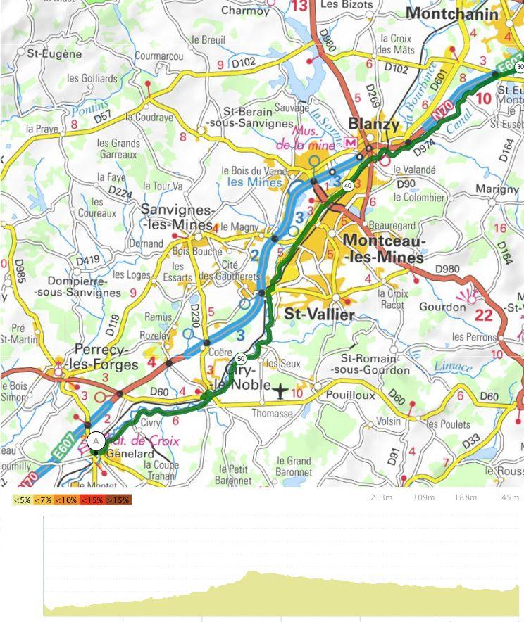 Le Tour de Bourgogne - Etape 5 - Santenay/Génelard - 60,1 km