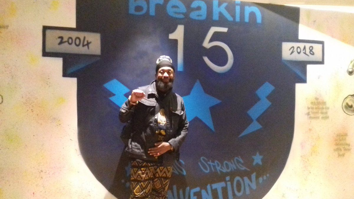 Mc Supernatural, Breakin Convention, Sadlers Wells, samedi 5 mai 2018