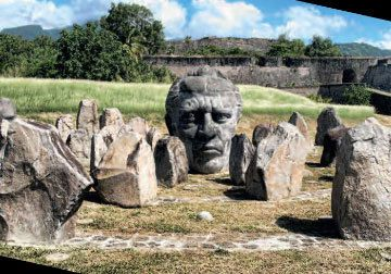 Mémorial Louis Delgrès and the fort named after him in Guadeloupe