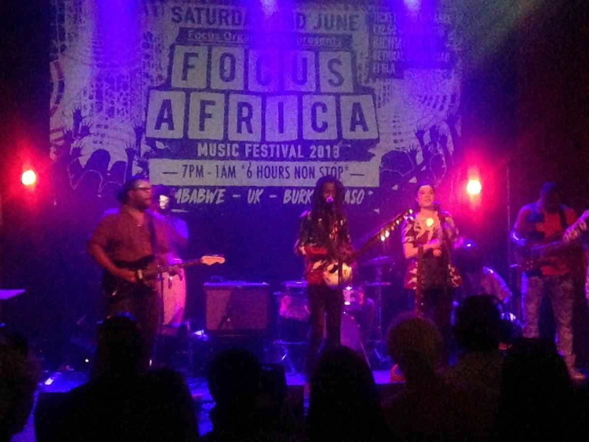 Boubacar Kafando and the Zaama Nooma Band at Focus Africa 2018, RichMix London