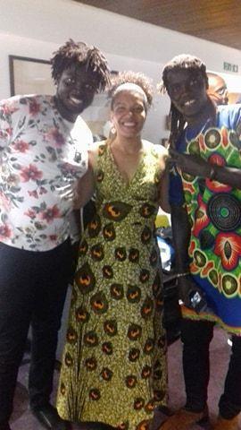 Angelique Kidjo Djembe drummers