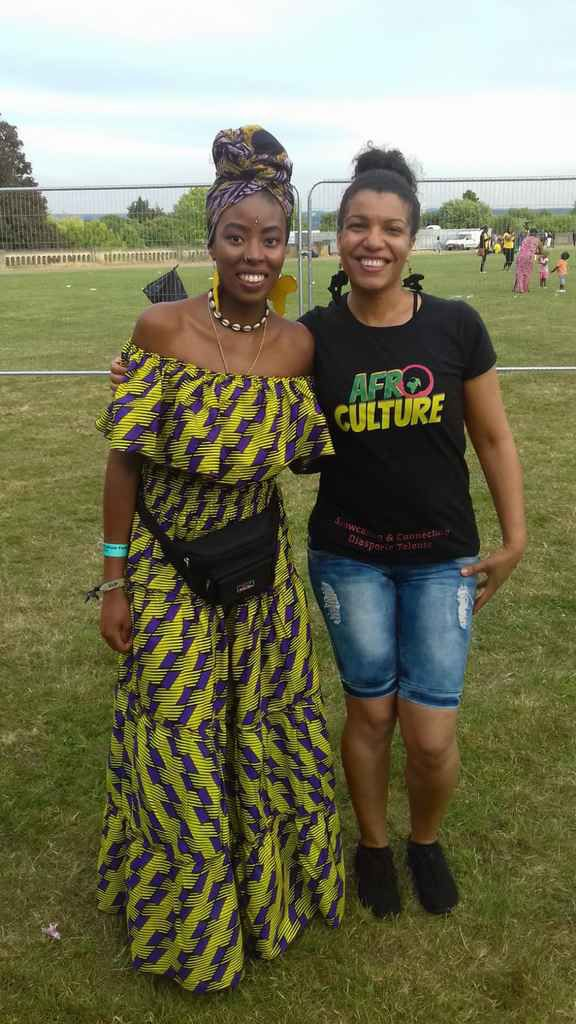 Teshay Makeda with Caro Sika at Radiate 70th Windrush Festival  on 24.06.2018
