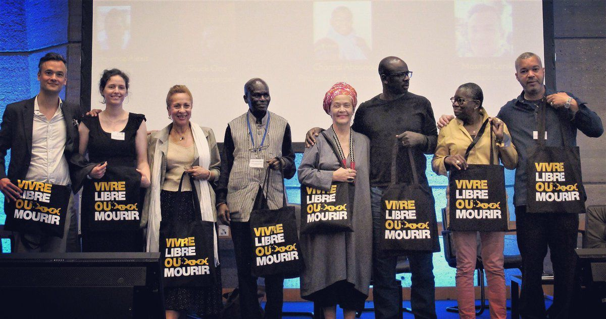 Presentation of Vivre Libre ou Mourir at UNESCO on 8th June 2018