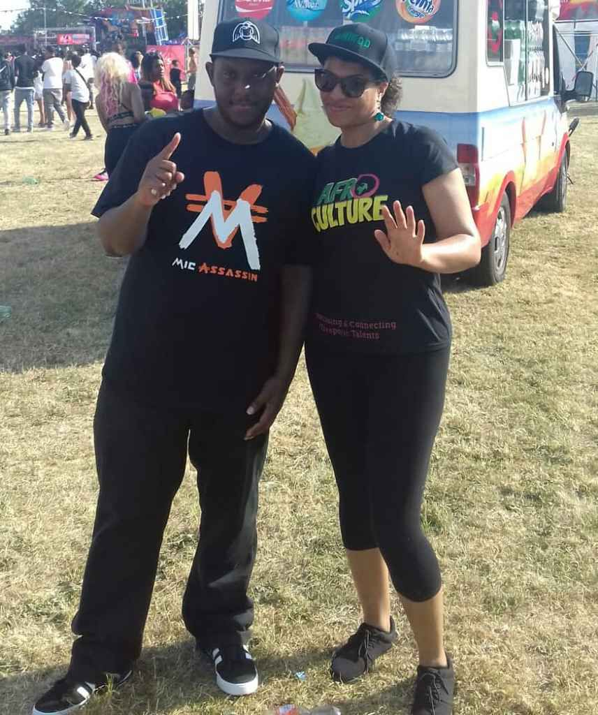 Mic Assassin and Caro Sika at People's Day Saturday 7th July 2018