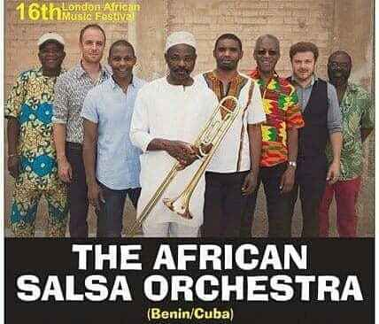 The African Salsa Orchestra led by Michel Pinheiro