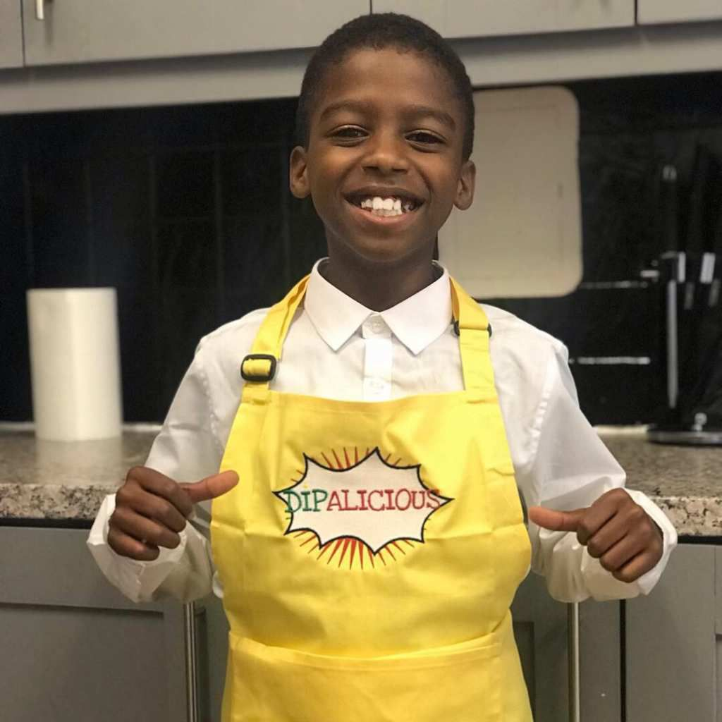 Omari McQueen, 10 year old CEO of Dipalicious