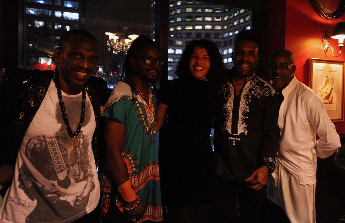 Caro Sika with the British Collective, photo credit: Snazmusic