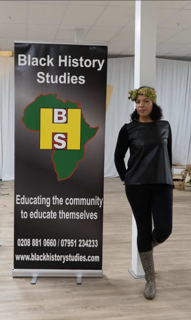 Caro Sika sporting out Gitas Portal Headwraps at Black Market Extravaganza - Photo Credit: GraphikVision