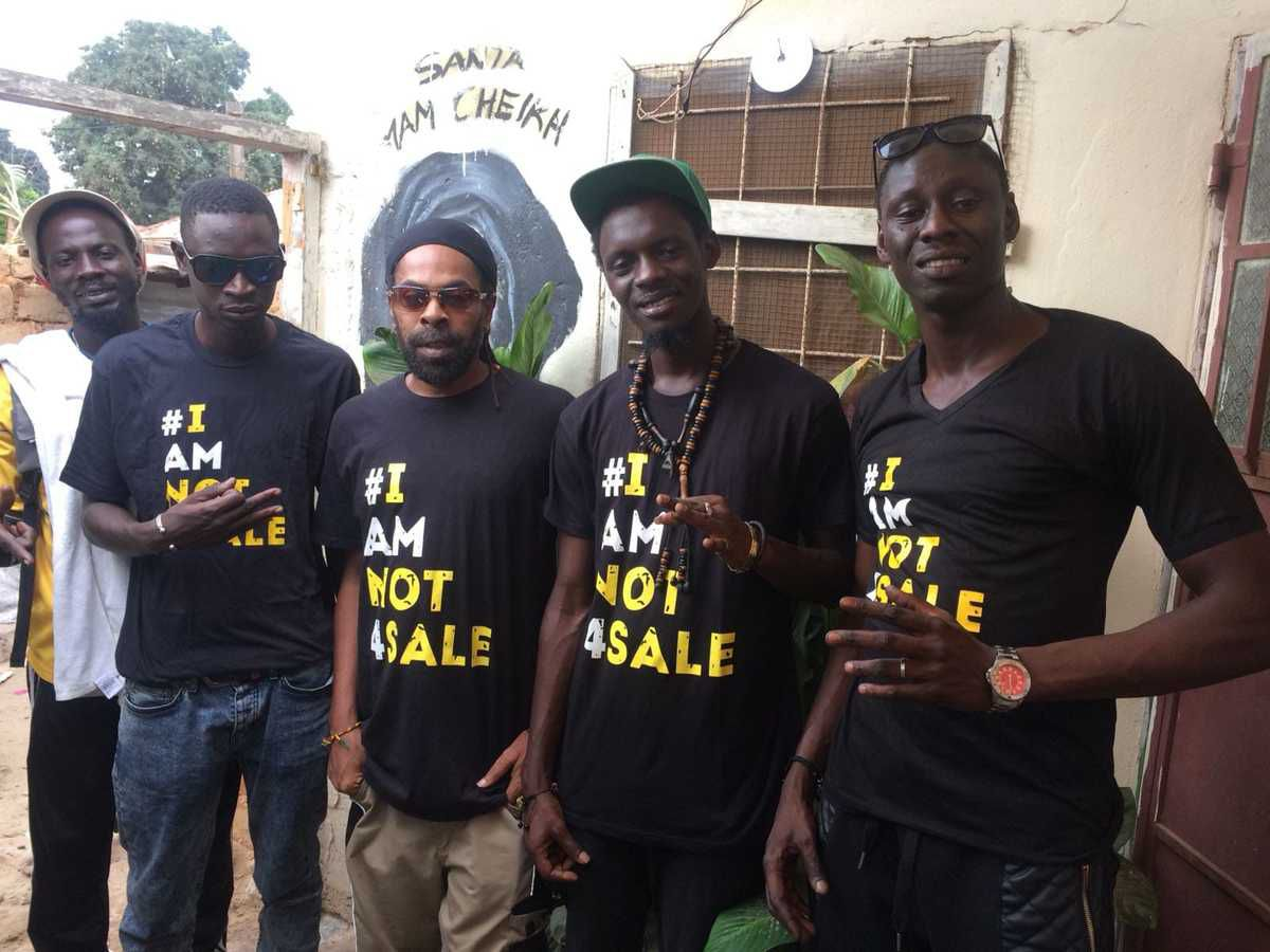 #iamnot4sale movement in the Gambia