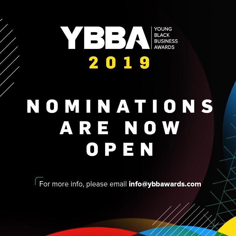 YOUNG BLACK BUSINESS AWARDS YBBA 2019 LAUNCH!