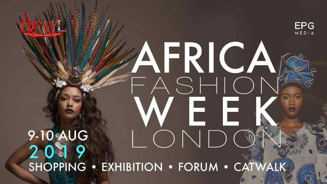 AFRICA FASHION WEEK LONDON 2019