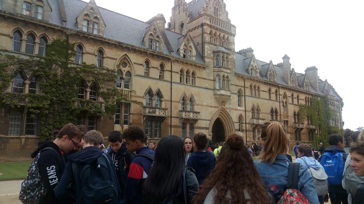 Arrivée à Oxford
