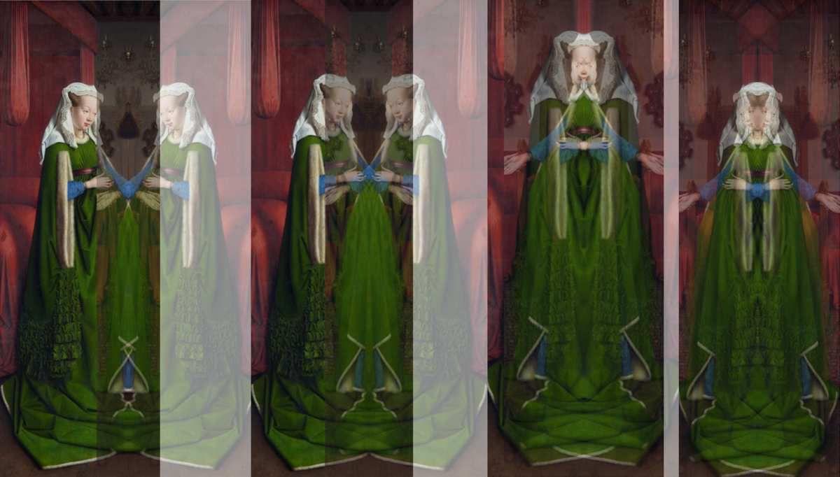 Miroir dans l'Art 3 - Les époux Arnolfini - Jan van Eyck