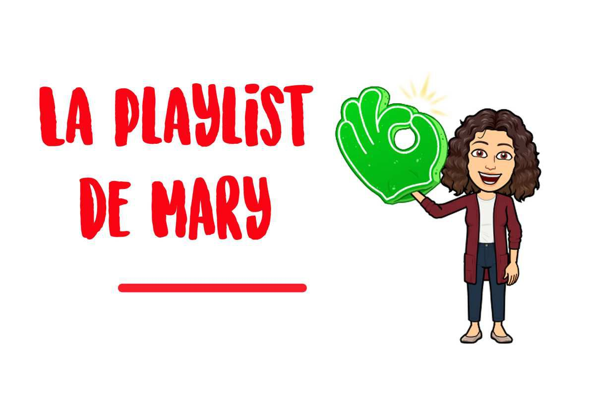 La Playlist de Mary