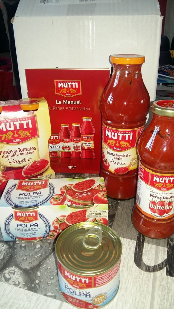 Super sélection  Mutti. Plus qu'à tester. Merci #MuttiFrance  #TomatesMutti
