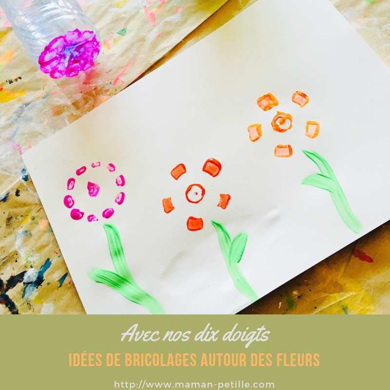 Flower Power... Quelques idées de bricolages autour des fleurs !