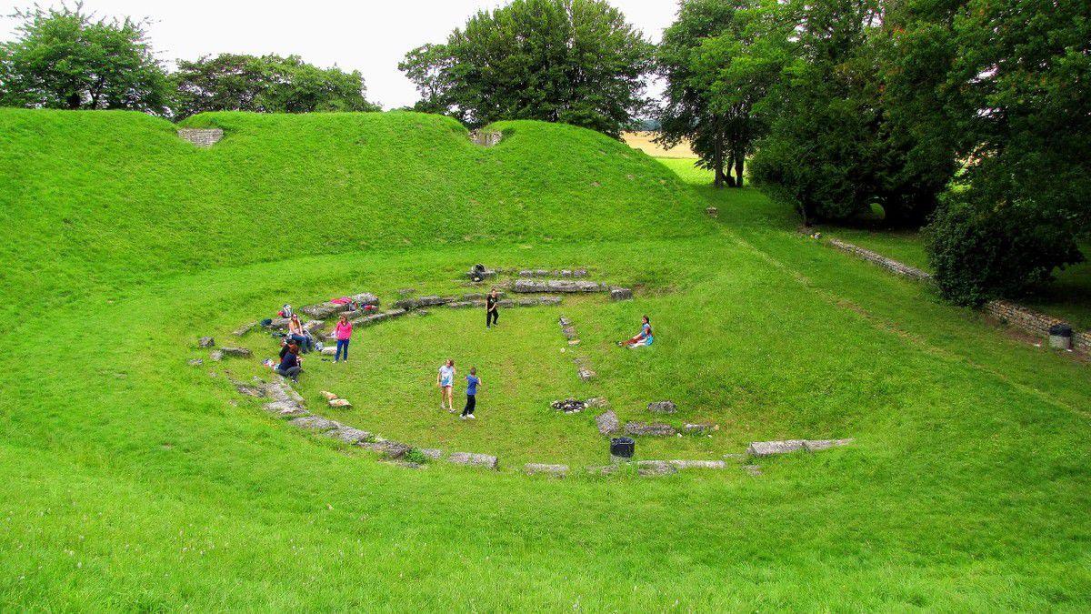 les ruines gallo-romaines de Champlieu