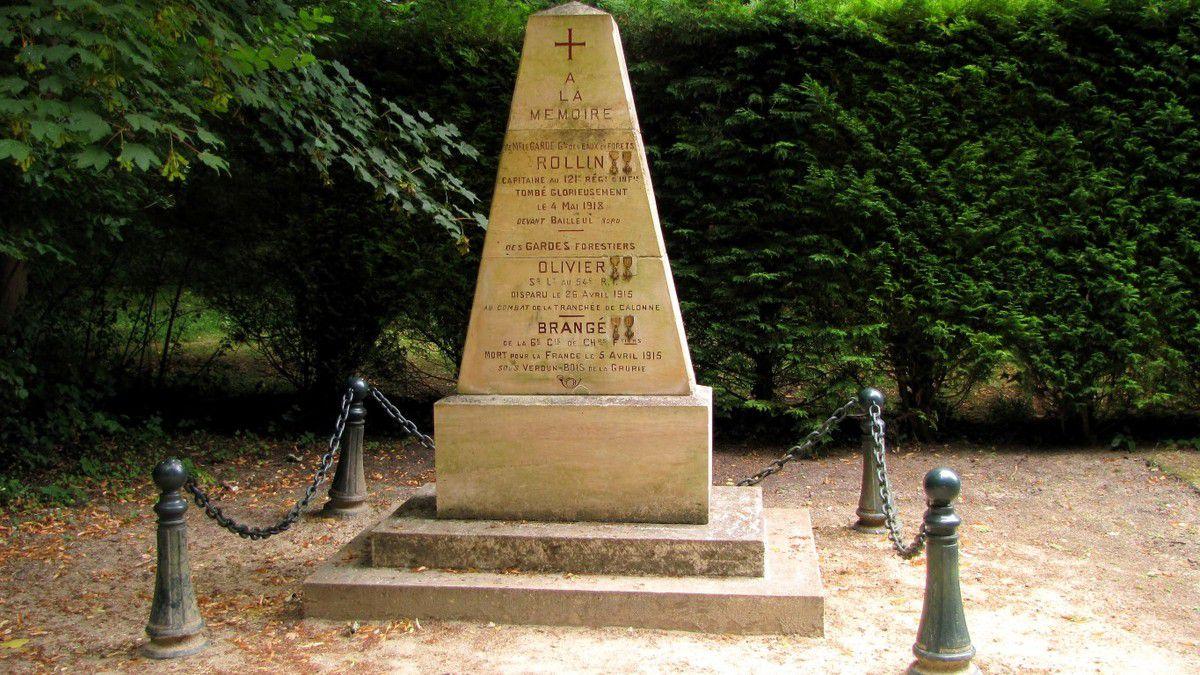 le mémorial de l'Armistice