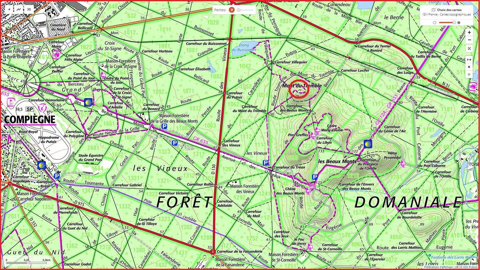 Lieux Atypiques en forêt de Compiègne