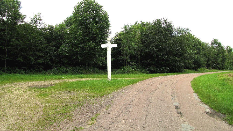 le carrefour des Tournelles en forêt de Compiègne
