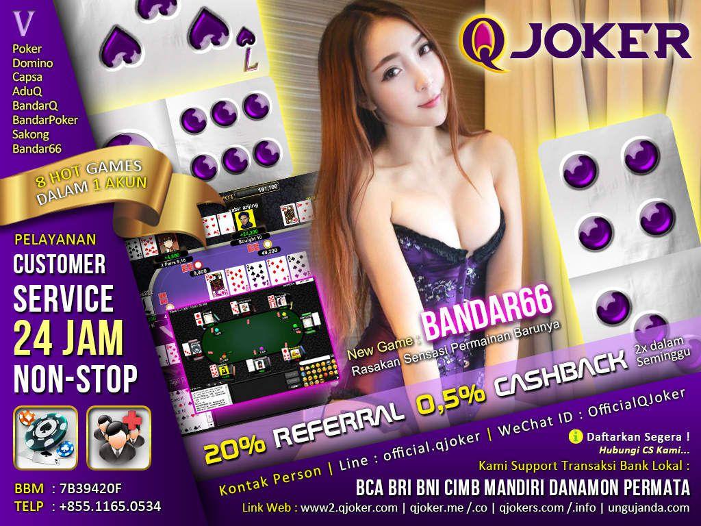 Link Acuan Terbaru Agen Judi Sakong QJoker - SakongPro.com
