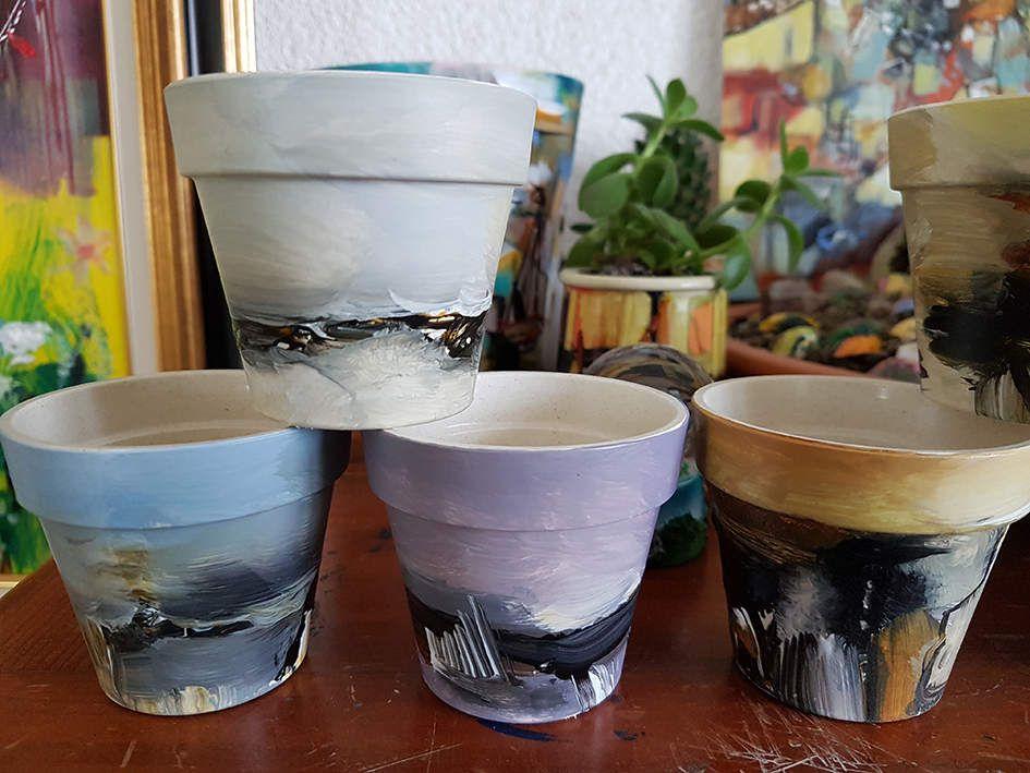 Peindre sur tout, peindre surtout, surtout peindre ! Muriel CAYET - Juillet 2018