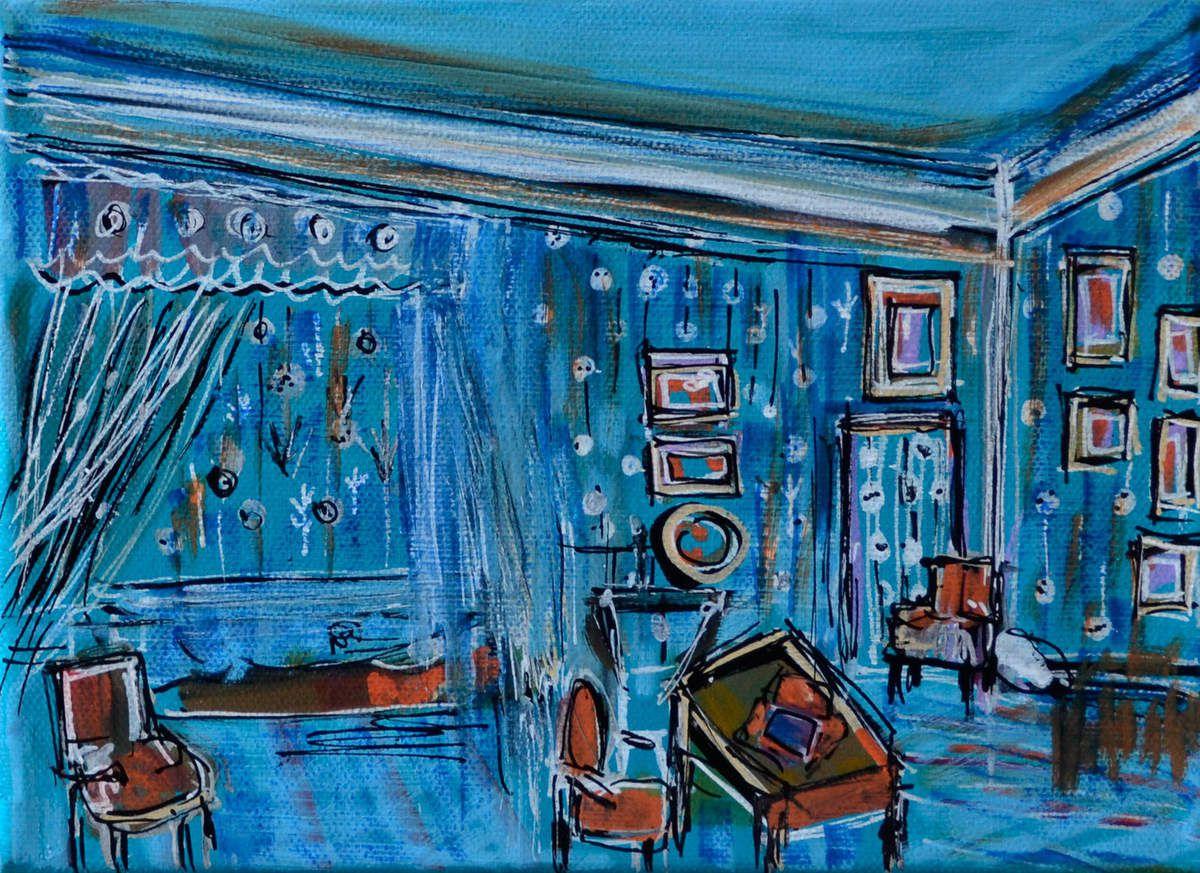 La paix de l'esprit- Acrylique sur toile - Muriel CAYET