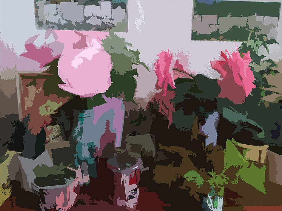 Bouquet- Photographie et composition numérique Muriel CAYET