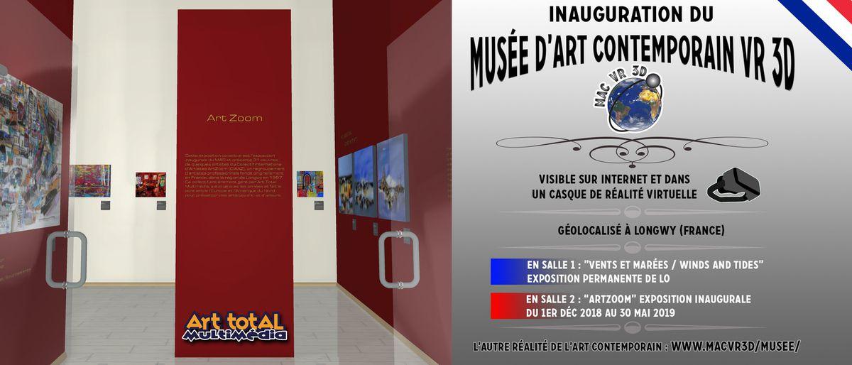 Un musée d'art contemporain à visiter ... de chez soi !